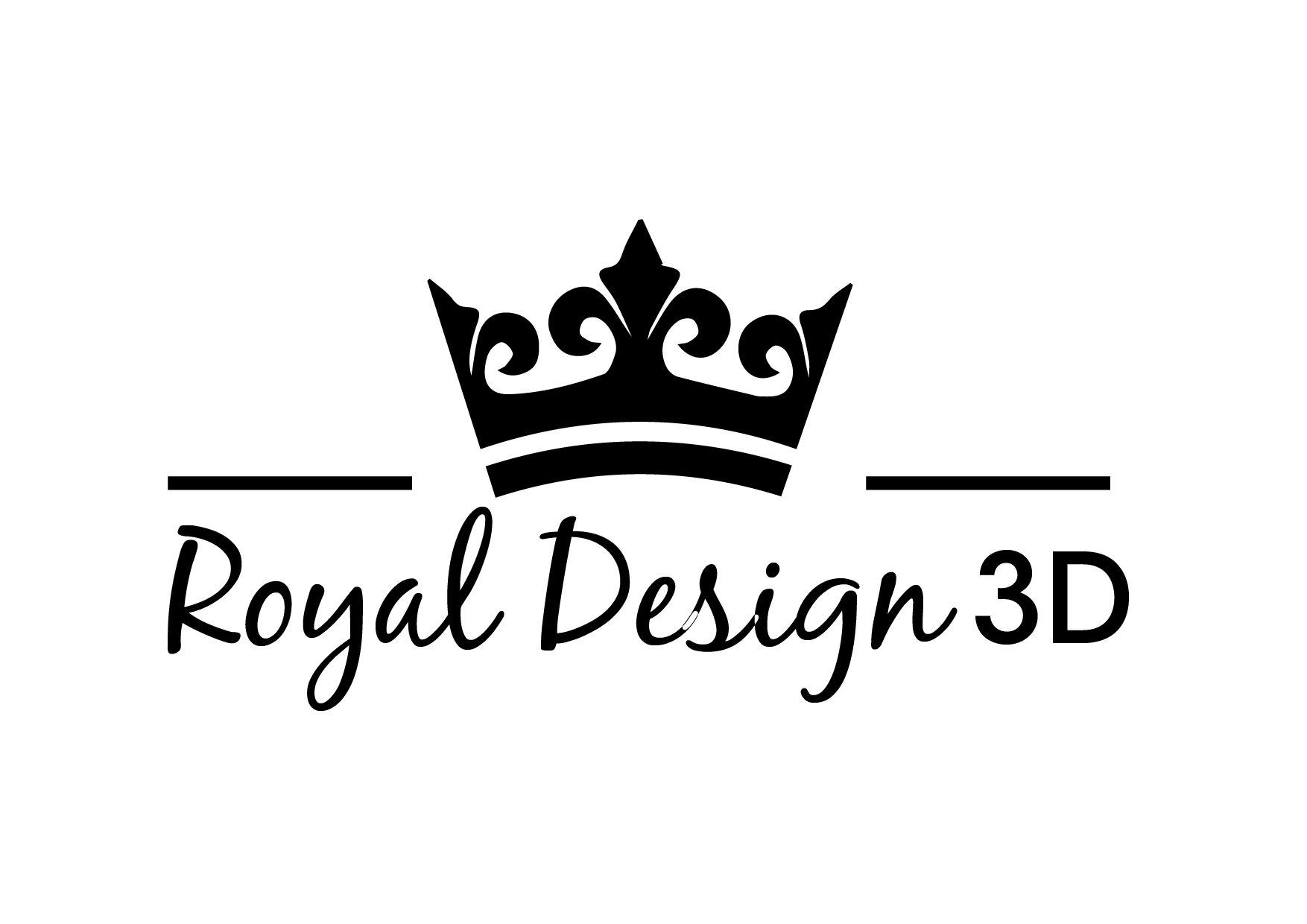 Logo Royal Design 3D