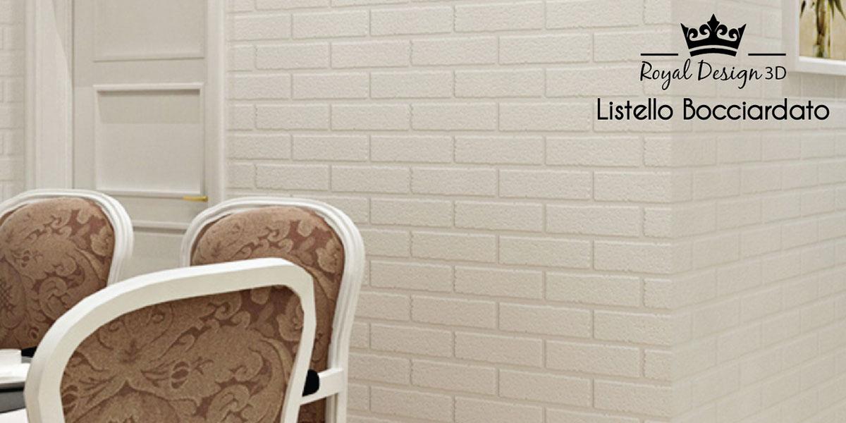 Royal Design 3D - Listello Bocciardato