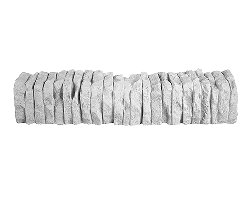 Royal Design 3d | Cordolo Retto Split | pietra rivestimento, pietra ecologica, rivestimenti 3d | Foto 1
