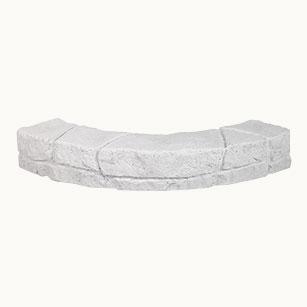 Pietra rivestimento, pietra ecologica, rivestimenti 3d | Italia | Stone Cordolo Curvo